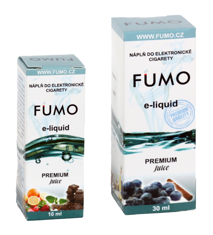 E-liquid (eliquid) FUMO - čokoláda 10 ml / 24 mg